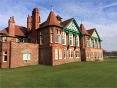 The Royal Lytham Clubhouse