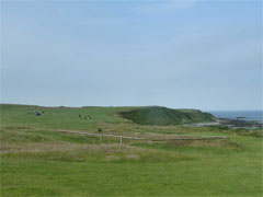 The second hole at Nefyn