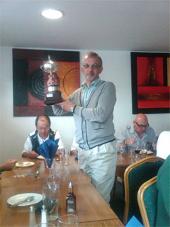 Winning Captain Graham Adams
